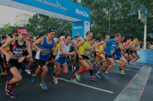 V Edición 15 Km MetLife Madrid Activa bate su récord de participación