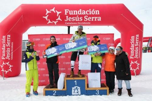 La Fundación Jesús Serra une deporte y formación en su 12º Trofeo de Esquí