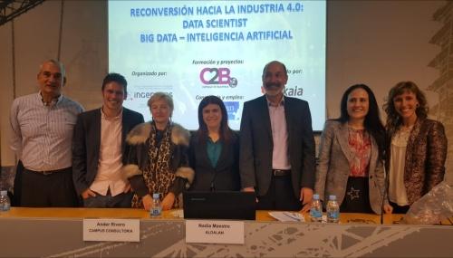 Inithealth participa en la presentación del curso Big Data e Inteligencia Artificial