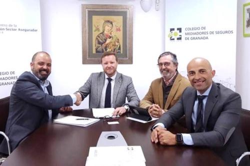 DAS y el Colegio de Mediadores de Granada mantienen su colaboración