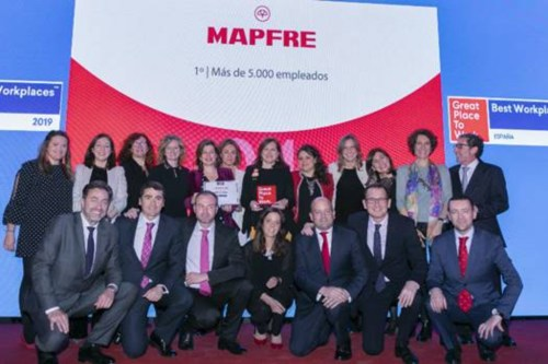 Mapfre: a great place to work