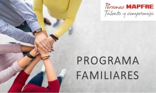 El programa Familiares apoya a empleados de Mapfre con familiares con discapacidad