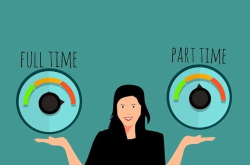Empleo a tiempo parcial: querer más y no poder