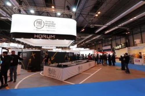 Pro Service presenta sus consumibles Horum en Motortec Madrid