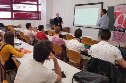 Apcas visita la Universidad de Valladolid