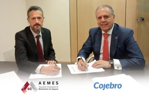 Aemes ratifica el acuerdo de colaboración con Cojebro