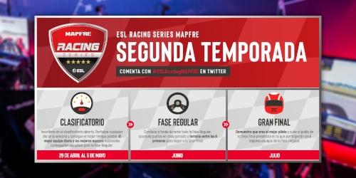 Mapfre repite ESL Racing Series