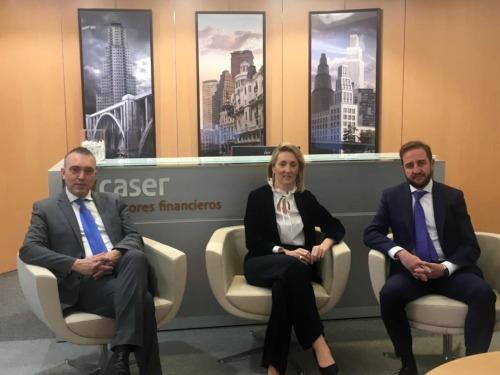 José María Luna y Juan Luis Sevilla, nuevos agentes financieros de Caser