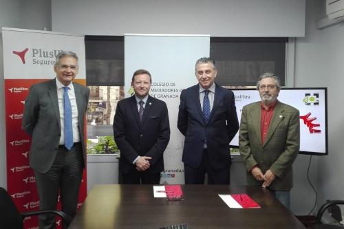 El Colegio Granada y Plus Ultra Seguros renuevan su acuerdo