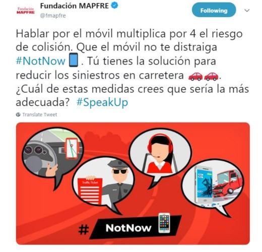 Fundación MAPFRE se une a la ONU y la campaña #Speakup