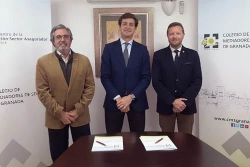 El Colegio de Granada y Asefa renuevan su acuerdo de colaboración