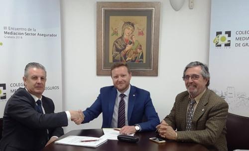 Caser y el Colegio de Mediadores de Granada refuerzan su colaboración