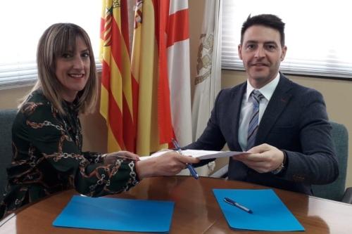 AXA sella su colaboración con los Colegios de Mediadores de Navarra y Huesca