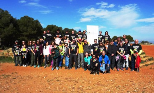 III ruta deportiva Ciudad de La Alhambra con el colegio de Granada