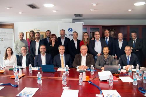 El Colegio de Valencia acoge la reunión del Consejo Asesor de Zurich