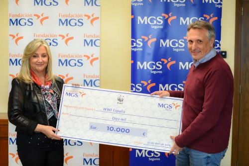 Fundación MGS se compromete con WWF