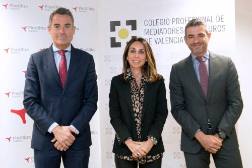 Plus Ultra renueva su acuerdo con el Colegio de Mediadores de Valencia