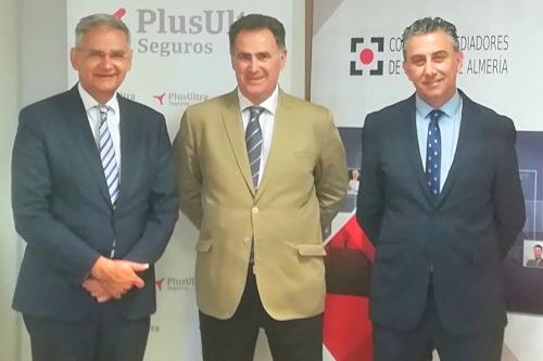 Plus Ultra y el Colegio de Almería estrechan su colaboración