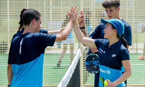 Vuelve el Allianz Junior Pádel Camp con Paquito Navarro