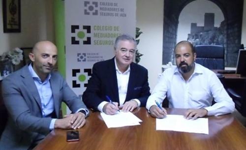 Primer protocolo de colaboración entre DAS Seguros y el Colegio de Mediadores de Jaén