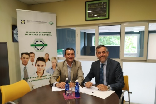 Arag renueva su colaboración con el Colegio de Mediadores de Guipúzcoa