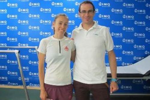 IMQ con el deporte femenino y Virginia Pérez