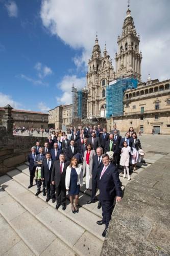 El seguro mundial celebra su día en Santiago de Compostela