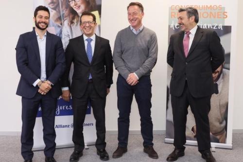 Allianz Partners desayuna con la banca española