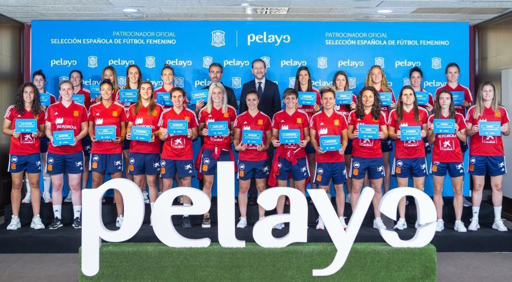 Pelayo asegura a la Selección española Femenina de fútbol