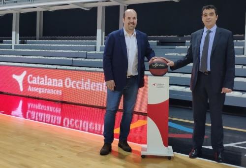 Catalana Occidente patrocina al BC Morabanc Andorra