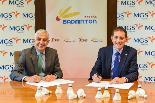 MGS y la Federación Española de Bádminton, juntos por el desarrollo del deporte escolar