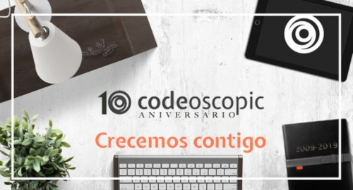 Codeoscopic cumple 10 años y lo celebra con clientes y compañías