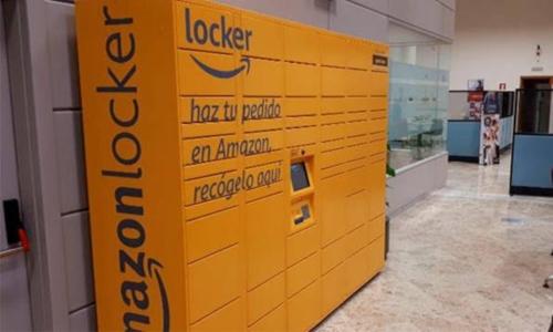Mapfre instala en Sevilla el primer Amazon Locker