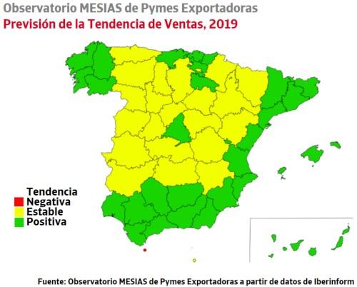 La Rioja y Cantabria lideran el ranking de pymes exportadoras