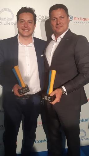 Fundación AXA y La Sexta reciben el premio Consalud 2019