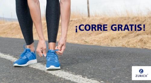 Corre gratis: Zurich regala mil dorsales para as maratones de Málaga y Donostia