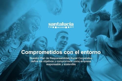 Comprometidos con el entorno. Santalucía lanza su Plan de RSC alineado con los Objetivos de Desarrollo Sostenible