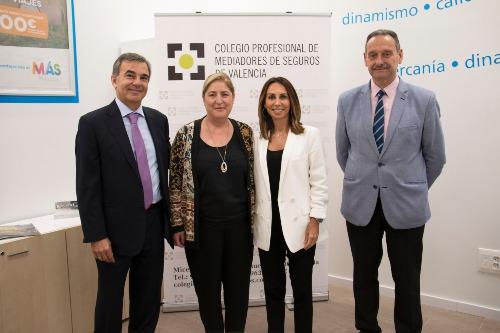 SegurCaixa y el Colegio de Valencia renuevan su colaboración