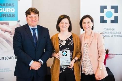 AXA, reconocida con la máxima distinción del Colegio de Asturias