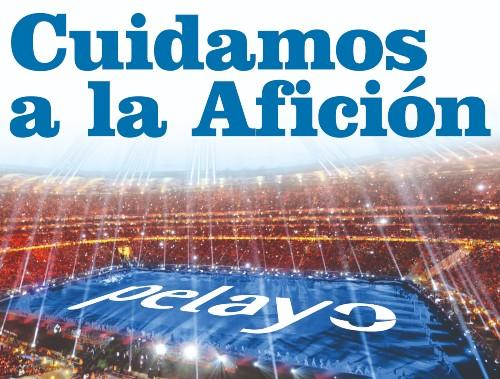 Pelayo asegura a los aficionados del partido España-Suecia en el Bernabéu