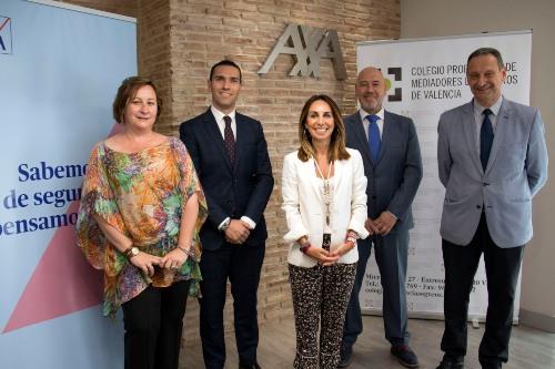 """AXA y el Colegio de Valencia reafirman su """"en perfecta sintonía"""""""