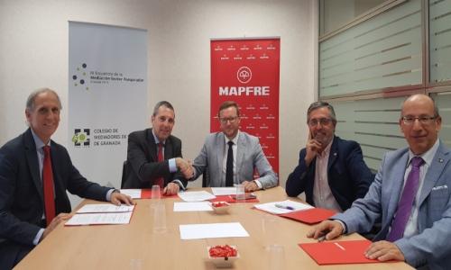 El Colegio de Mediadores de Granada y Mapfre renuevan su acuerdo institucional