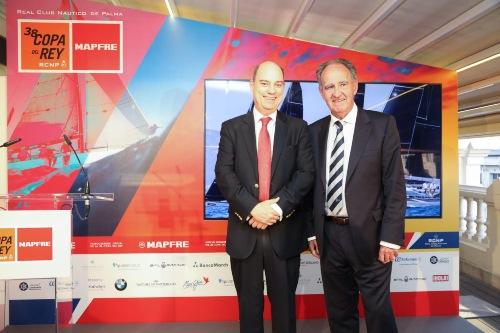 La Copa del Rey Mapfre vuelve al Mediterráneo mallorquín tras presentarse en Madrid