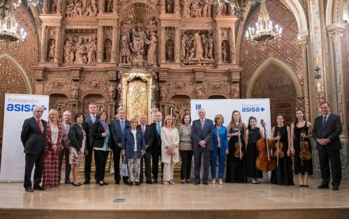 Fundación Asisa con la música de la Escuela Reina Sofía