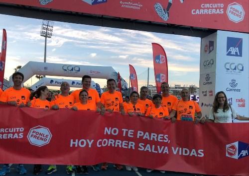 Fundación Axa pone freno en Málaga a los accidentes de tráfico