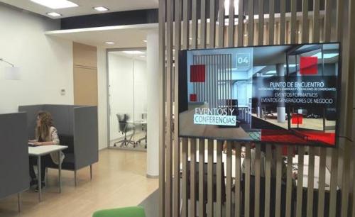Mapfre facilita el coworking a pymes y autónomos de Barcelona