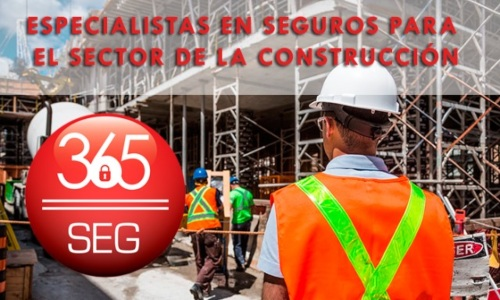 365seg.com se consolida en los seguros para la construcción