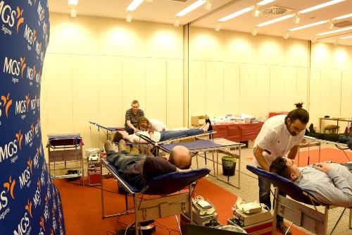 MGS Seguros promueve la donación de sangre