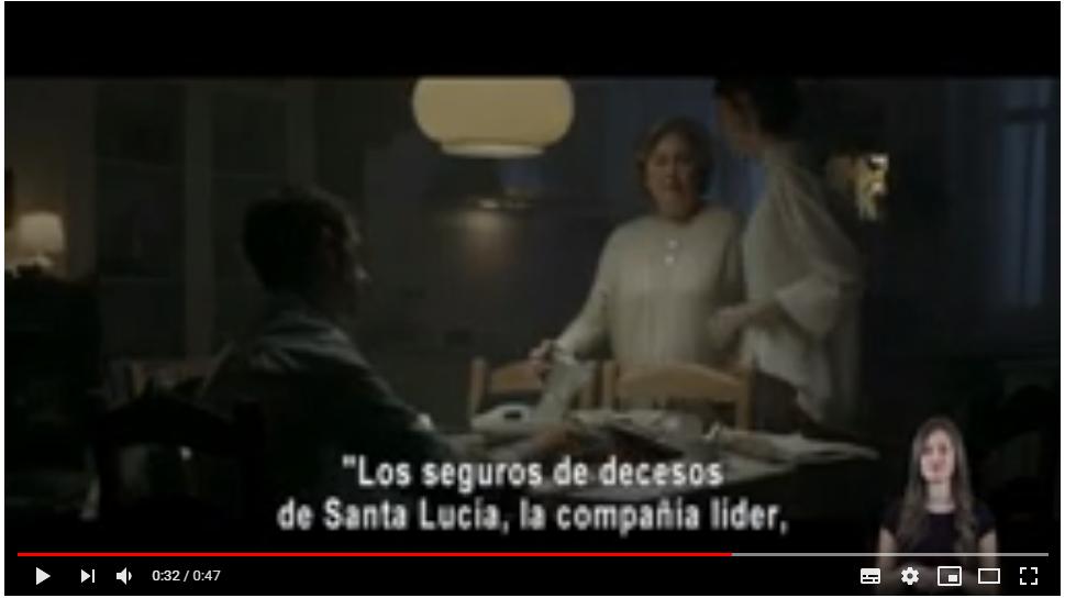 Santalucía presenta la primera campaña de publicidad totalmente accesible