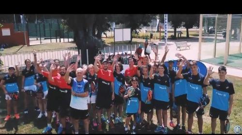 Doce chicos y ocho chicas seleccionados para el Allianz Junior Pádel Camp